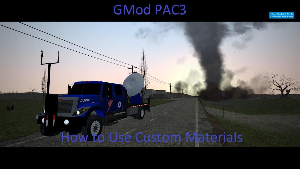 GMod PAC3 How to Use Custom Materials