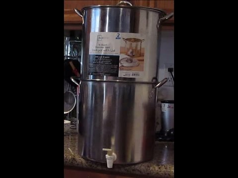 Diy Home Made Berkey Water Filter System Youtube