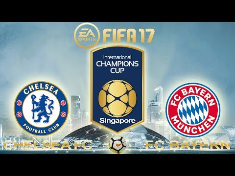 FIFA 17 | Chelsea vs Bayern Munich | International Champions Cup 2017 | PS4 Full Gameplay