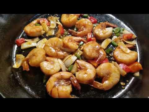 Mongolian & Garlic flavor Peel & Eat Shrimp bake (I do not own rights to music in video)