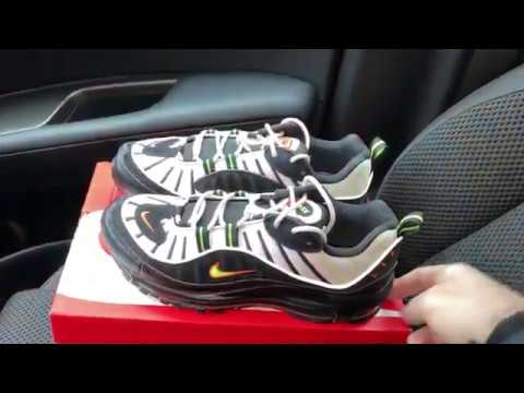 Nike Air Max 98 Highlighter Sneaker Youtube
