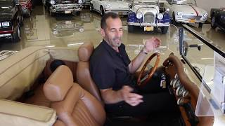 Driving a 1927 Mercedes-Bens SSk Roadster Rep in 2019! -