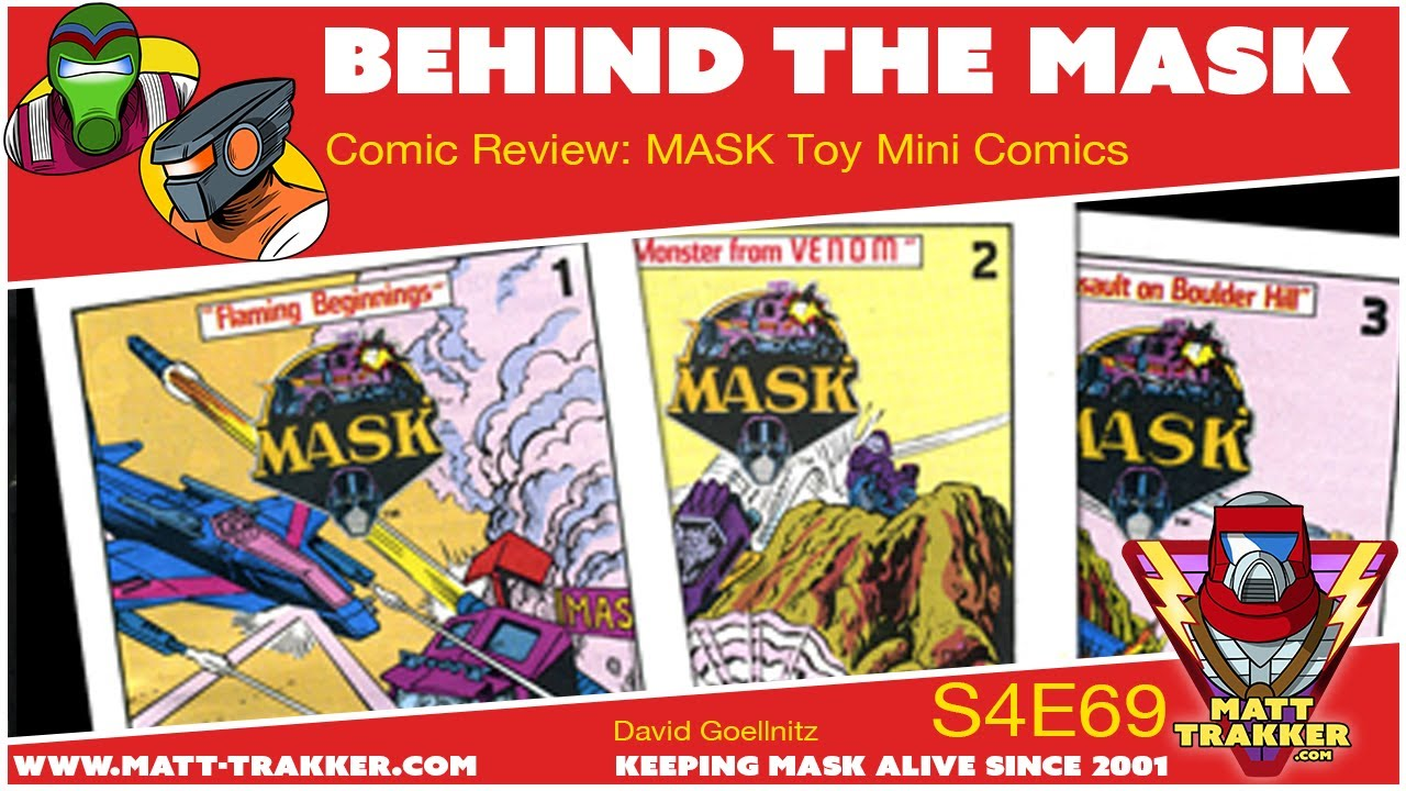 Comic Review: M.A.S.K. Toy Mini Comics - S4E69