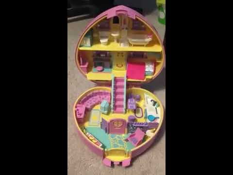Lucy Locket / Polly Pocket Carry n' Go Dream House Tour Vintage 1992