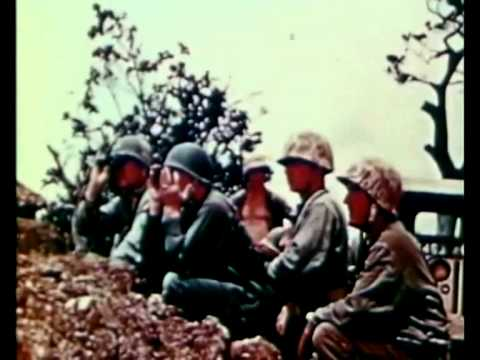 The 6th Marine Division on Okinawa | 1945 Authentic Colour Film