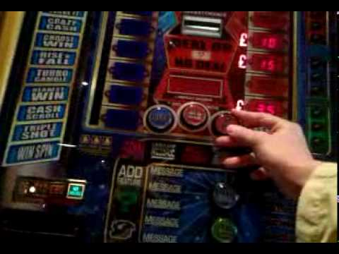 25p stake deal or no deal £70 jackpot fruit machine