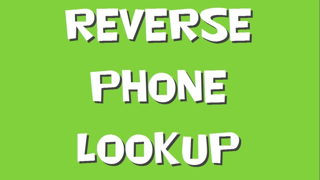 Reverse Cellphone Lookup For Free