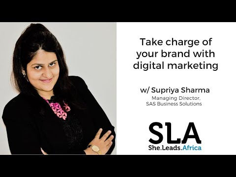 She Leads Africa Webinar with Supriya Sharma