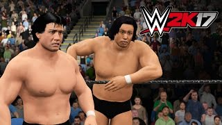 WWE 2K17 CAW Takao Omori & Yoshihiro Takayama (Xbox One)