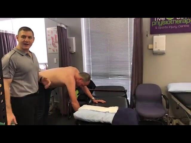 Pendular Exercises for Post Op Shoulder Rehab