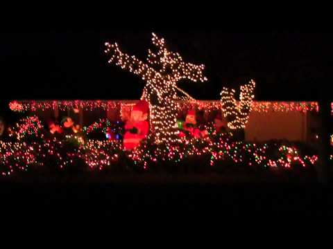 00252 Christmas Lights Boca Raton NW 5 Ave