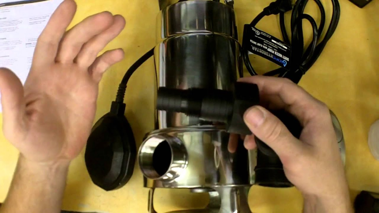 Harbor Freight 1 Hp Submersible Dirty Water Pump Review