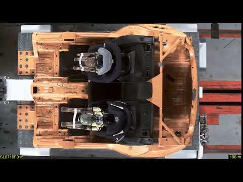 Cybex Sirona M2 I-size | группа 0+1 | краш-тест | фронтальный удар