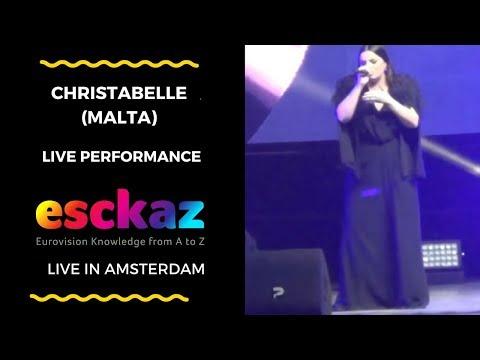 ESCKAZ in Amsterdam: Christabelle (Malta) - Taboo