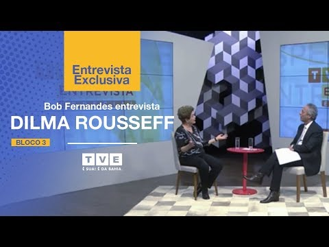 TVE Entrevista Especial - Dilma Rousseff (Bloco 3)