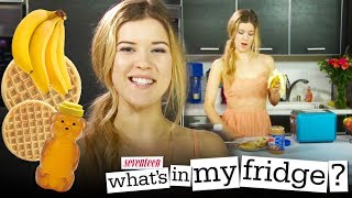 Waffle Sandwiches! What's In My Fridge? With Meghanrosette