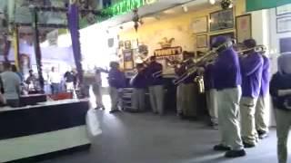 Bay City Brass Band at Toomey's Mardi Gras 1/26/13
