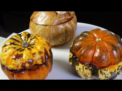 Roasted Winter Squash Pot Pie / Vegetarian/Vegan – Bruno Albouze – THE REAL DEAL