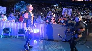 WWE SmackDown Live 1/31/17 FRONT ROW (Corpus Christi, TX)   Brandon Hodge Vlog #45