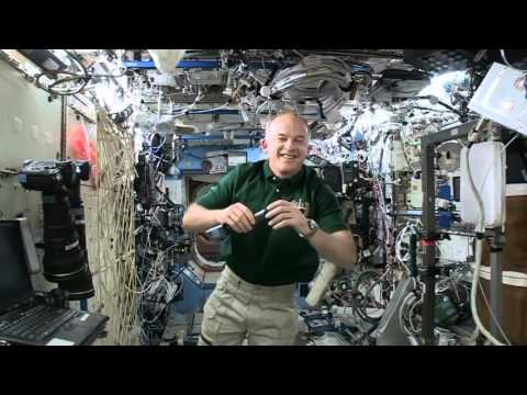 ISS Jeff Williams epic interview in space