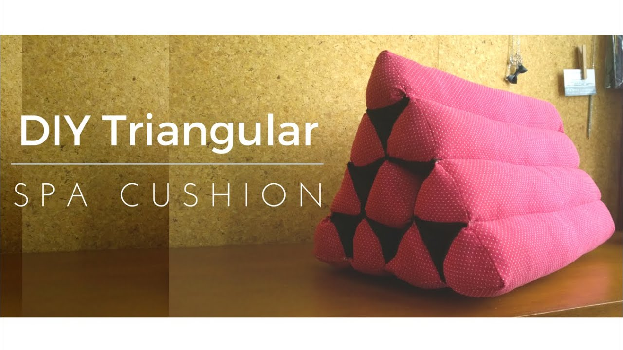 DIY Thai Triangle Cushion