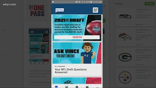 NFL launches OnePass app for tickets to 2021 NFL Draft Experience screenshot 1
