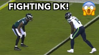 DK Metcalf vs Darius Slay FIGHT (2020) WR vs CB
