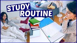 MORGENROUTINE mit STUDIUM!! - Study Routine