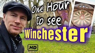 1 hour to explore Winchester England - Can it be done?  An Englishman tours this ancient city!