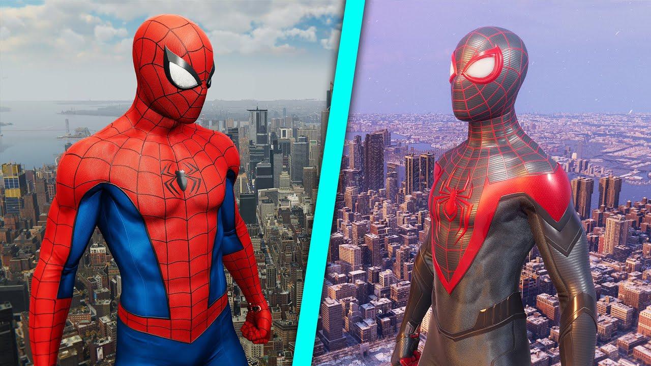 Download LEQUEL EST LE MEILLEUR ? (Spider-man Remastered & Miles Morales)