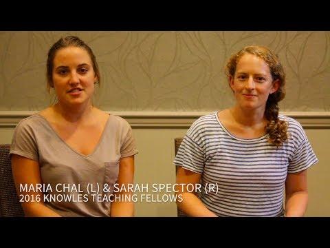 Chal & Spector Fellowship Testimonial