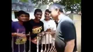 thala ajith with fans in his house