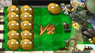 Giant Wall-nut Bowling vs Dr. Zomboss Mod all Zombies Pvz thumbnail