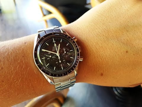 Omega Moonwatch First Time On The Wrist Initial Impressions Youtube