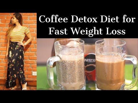 2 Coffee Detox Diet Recipes for Fast Weight Loss   Lose Upto 4 Kg in 1 Week   Fat to Fab Suman
