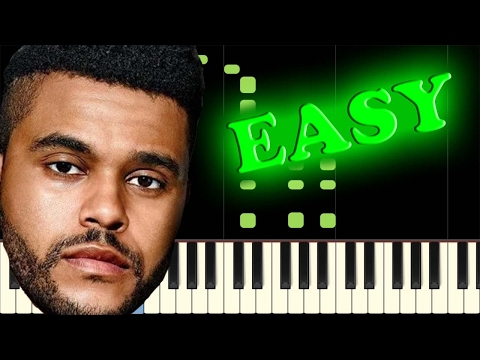 THE WEEKND - STARBOY - Easy Piano Tutorial
