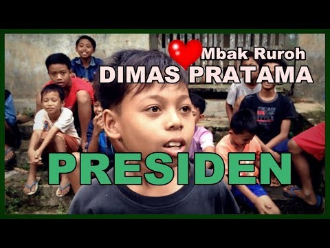 Bocah SD dimabuk CINTA, bercita jadi Presiden (DIMAS & MBAK RUROH)