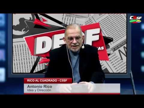 Antonio Rico - Santa Fe la Ciudad de la furia - RICO AL CUADRADO