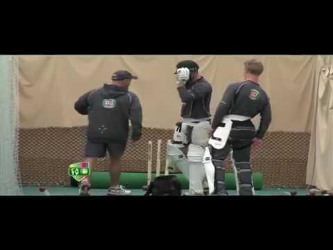 Lehmann Batting Session