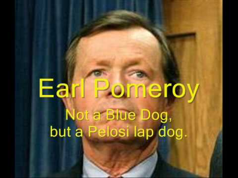 Earl Pomeroy No Blue Dog