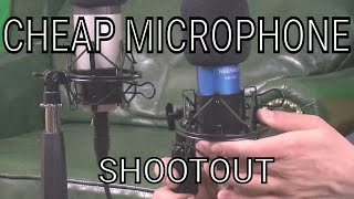 comparison of cheap microphones neewer nw 700 and nw 800