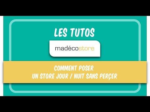 Store Journuit Comment Poser Un Store Jour Nuit Sans Percer Vidéo De Pose