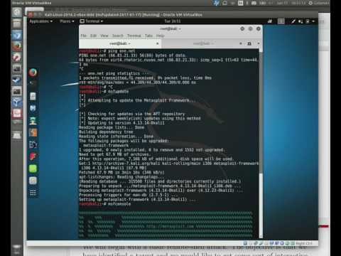 CS7038: Wk02.1 - VirtualBox Lab Setup and Attack Simulation Demo