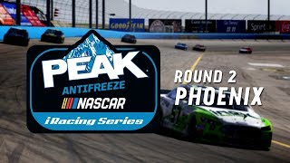 NASCAR PEAK Antifreeze iRacing Series | Round 2 at ISM Raceway