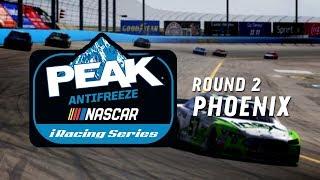 NASCAR PEAK Antifreeze iRacing Series | Round 2 at ISM Raceway thumbnail