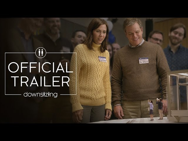 Downsizing (2017) - Official Trailer - Paramount Pictures