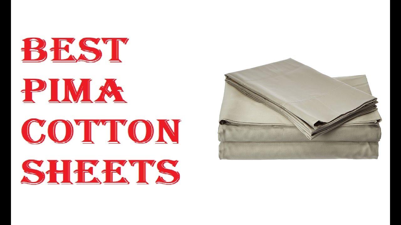 Best Pima Cotton Sheets 2018