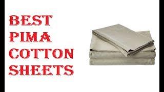 Best Pima Cotton Sheets 2019
