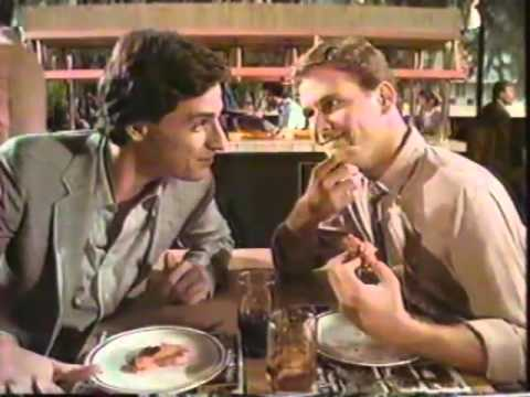 Bob Saget & Dave Coulier 1984 Elias Brothers Restaurant Commercial