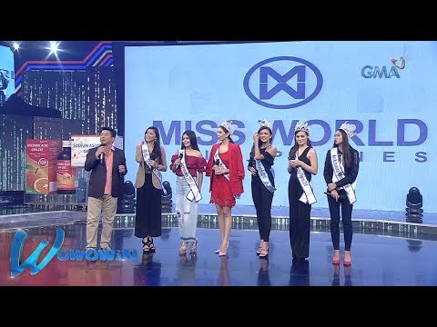 Wowowin: Meet the winners of Miss World Philippines 2018